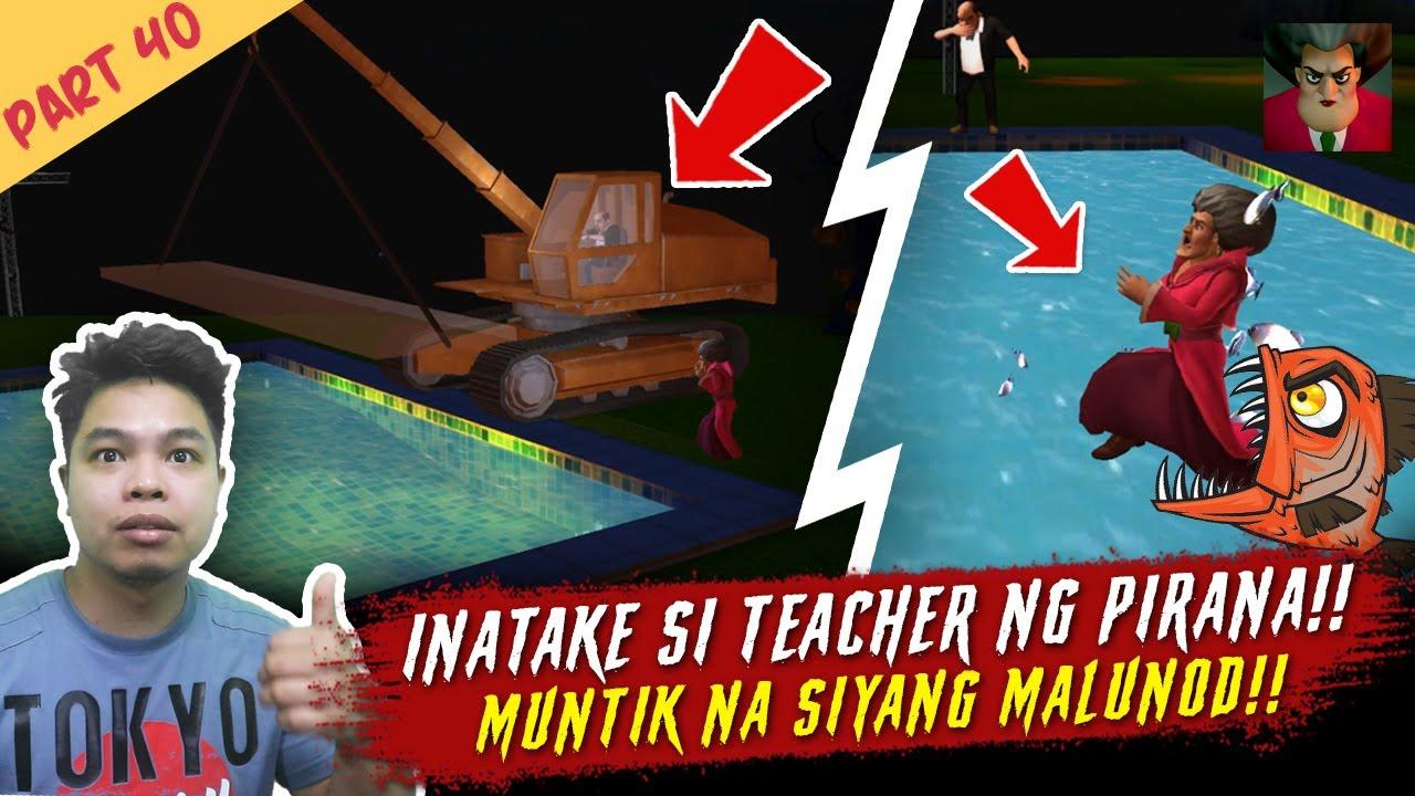 Download Nilapa si Teacher ng Piranha - Scary Teacher Part 40