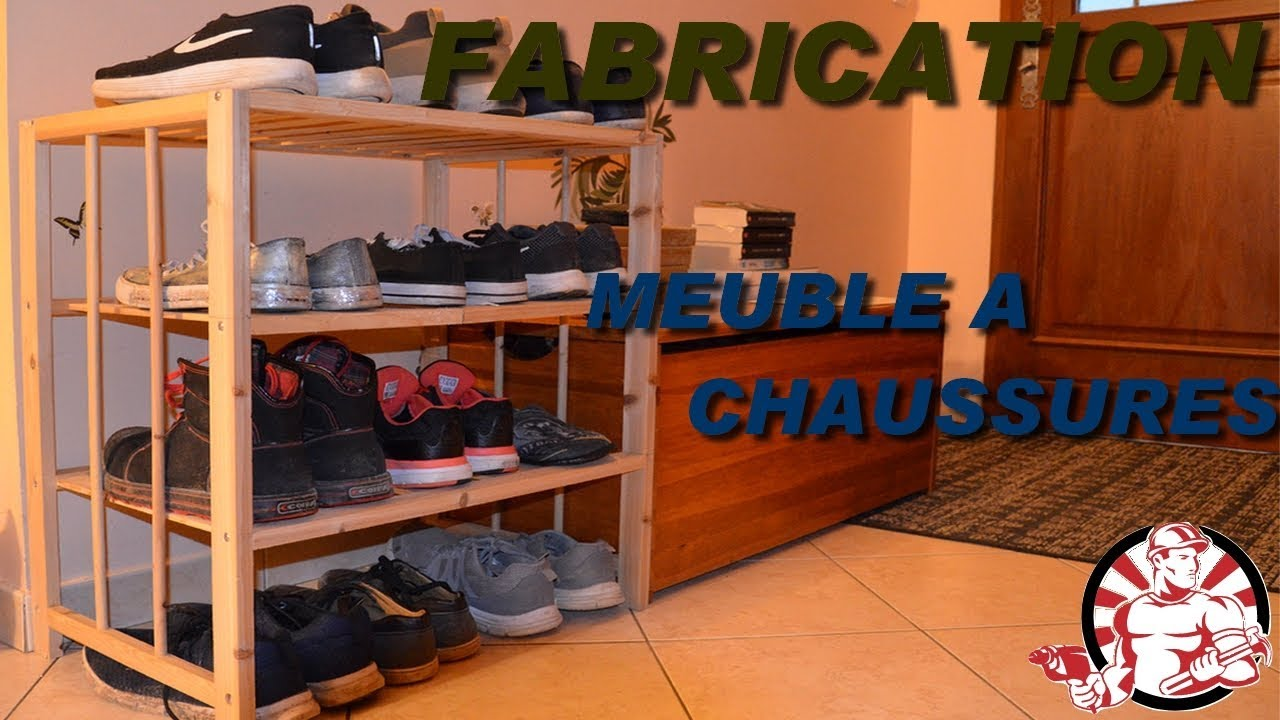 Fabrication Meuble A Chaussures Youtube