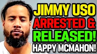 WWE News! Jimmy USO Arrested! AJ Styles WWE In Ring Future! A VERY Happy Vince McMahon! AEW News!