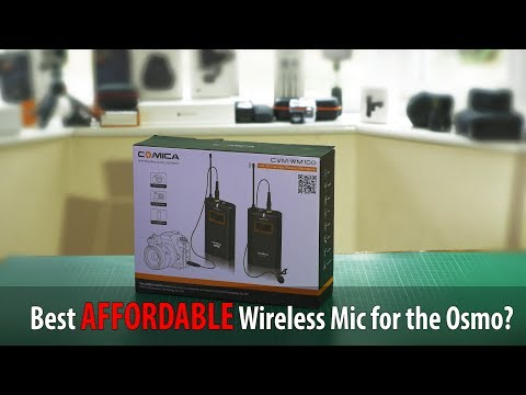 Best AFFORDABLE Wireless Mic for the Osmo? - COMICA WM100
