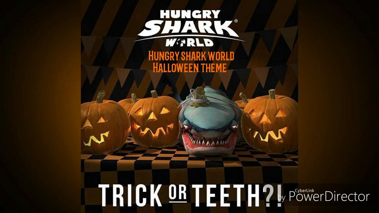 hungry shark world halloween theme - Halloween Theme Pictures
