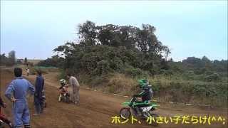 2013.11.2 MX408 50cc&新65ccクラス Kid's SX向け練習  XR100R