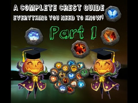 Castle Clash; In Depth Crest Guide, Everything You Need To Know! Part 1