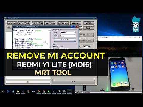 REMOVE MI ACCOUNT REDMI Y1 (MDI6S) MRT TOOL 🔥🔥🔥