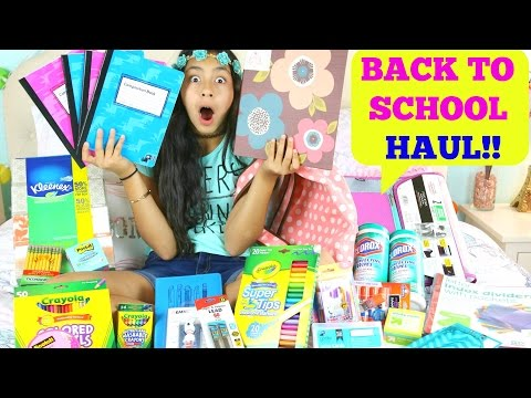 Back to School Supplies Haul!!  Back To School Shopping!! B2cutecupcakes