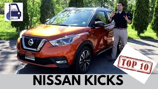 Top Ten Features Of The Nissan Kicks