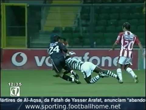 Leixões - 2 x Sporting - 2 (7-6 gp) jogo Particular de 2003/2004