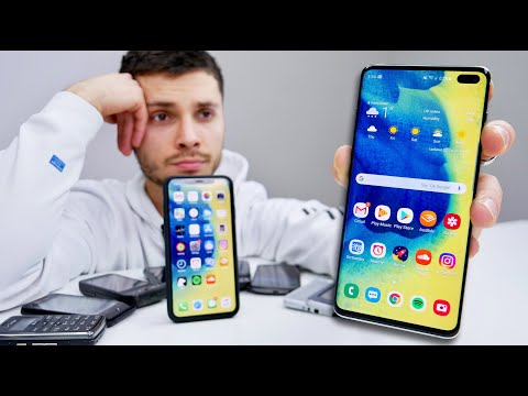 I'm Switching To The Samsung Galaxy S10..