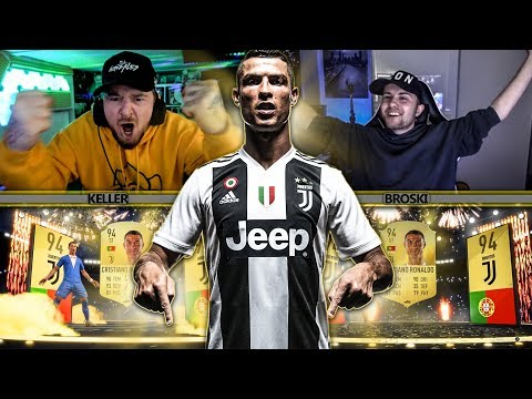 CRISTIANO RONALDO Entscheidet FIFA 19 TOTY PACK OPENING BATTLE  😱😱 WTF