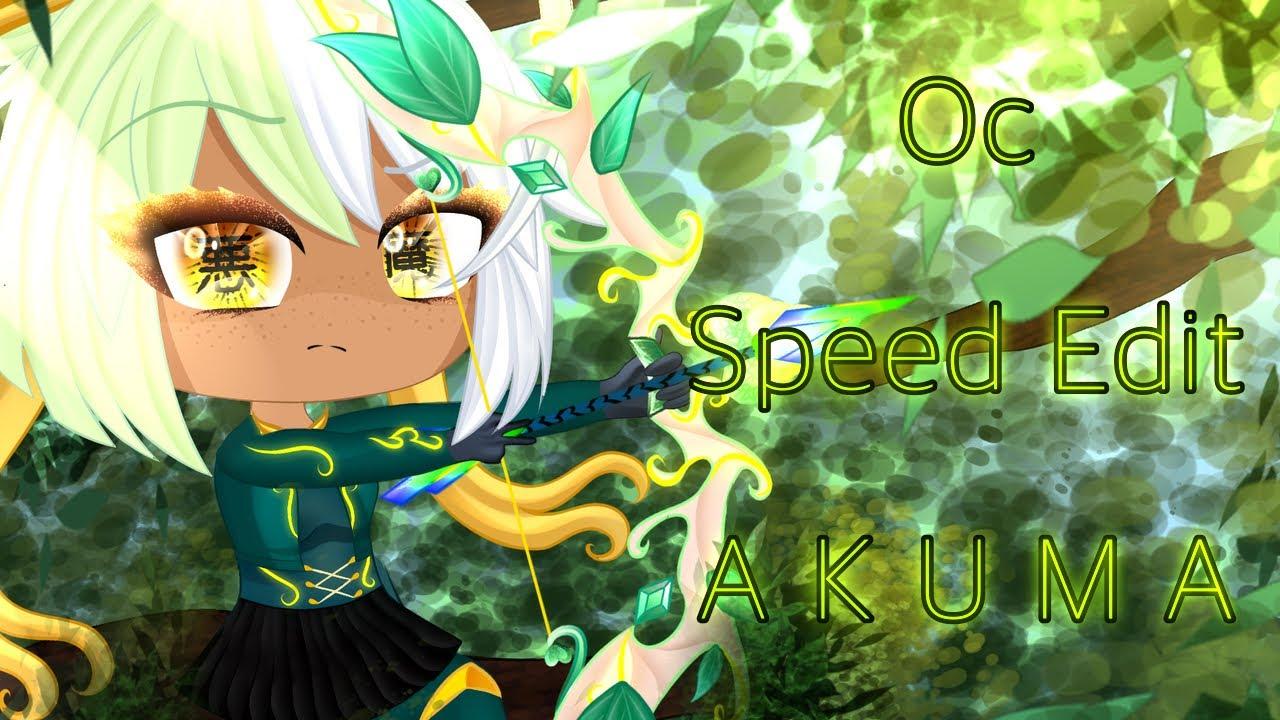 Oc Speed Edit 💚Akuma💚 Not in mlb TwT💧🤚🏾✨