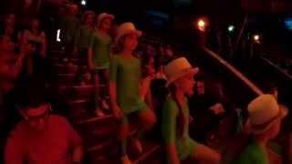 """Модерн балет """"Акверіас"""" підготовка до дня захисту дитини в цирку"""