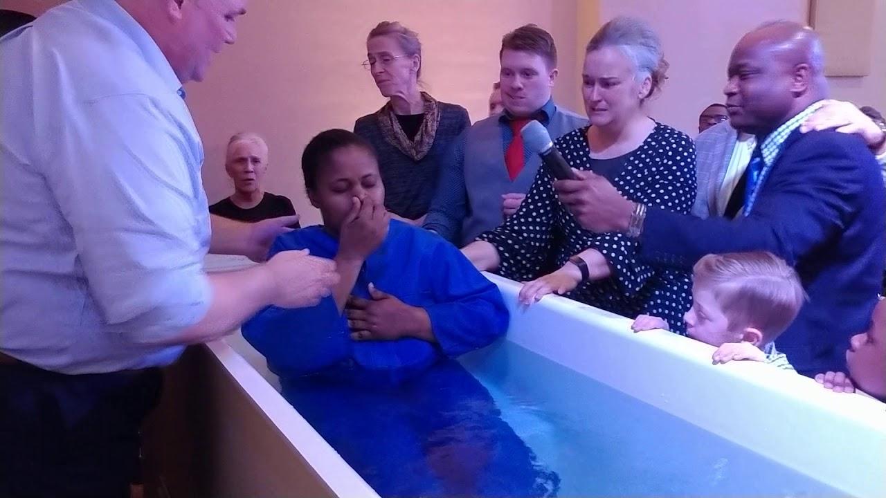 Baptized in the name of Jesus - YouTube