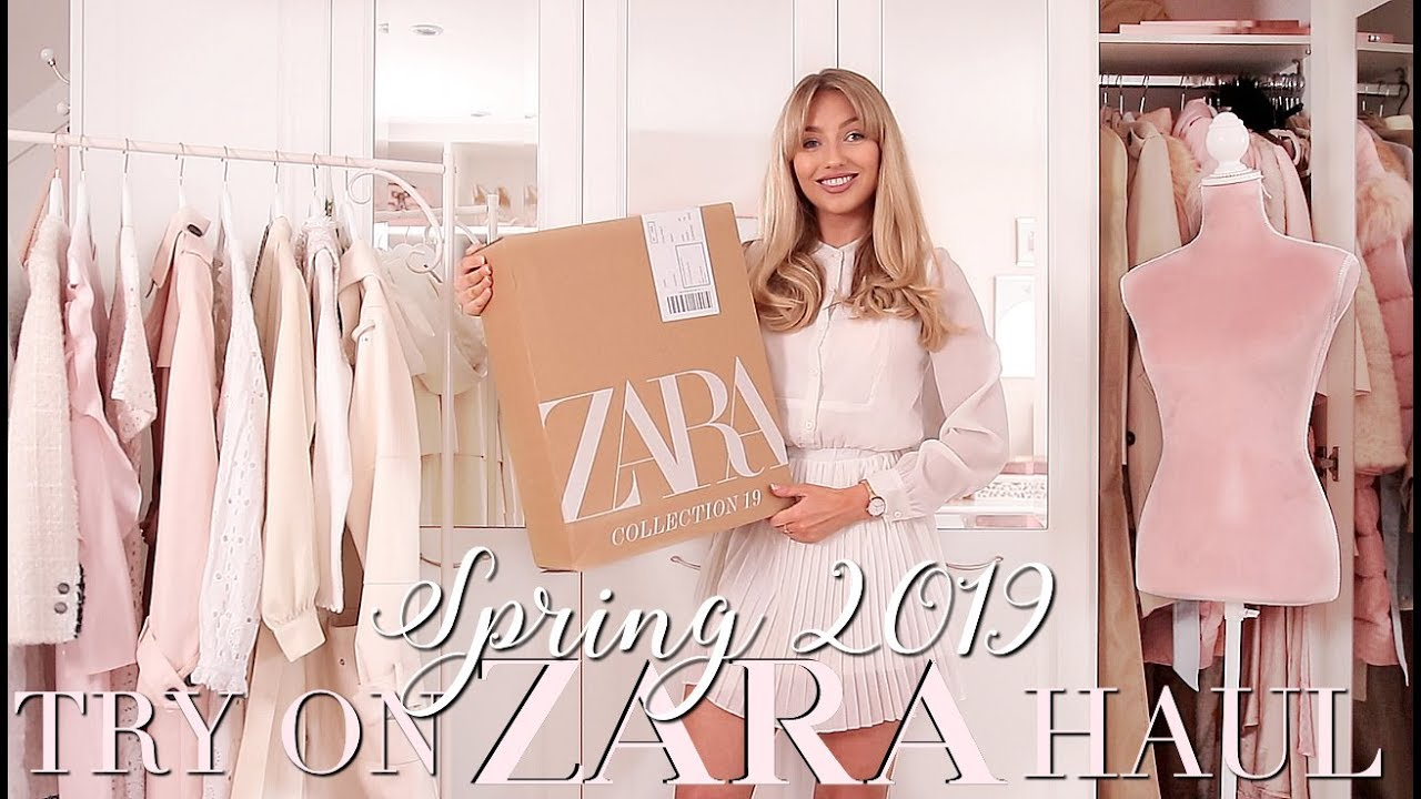 1de5e9ae ZARA Spring 2019 Try On Haul 🌸 ~ Spring Fashion Edit ~ Freddy My Love