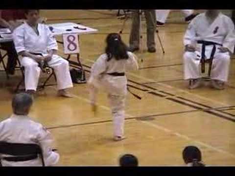 Kata Gekisai Sho;Karaté Kyokushinkai Canada ; Myriam Mansour