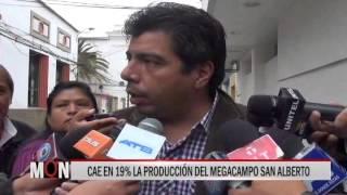 03/09/15  14:35  CAE EN 19% LA PRODUCCIÓN DEL MEGACAMPO SAN ALBERTO