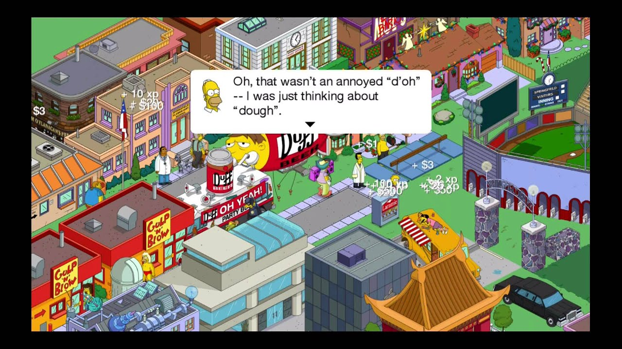the simpsons tapped out patch squidport part 1 youtube rh youtube com Simpsons Springfield App Homer Simpson