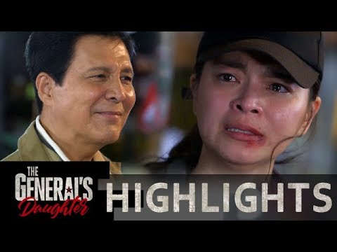 Rhian escapes from Tiago after their confrontation | The General's Daughter
