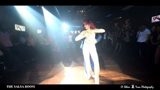EL TIGUERE & MARIA RAMOS World Debut Bachata Dance Performance @ THE SALSA ROOM