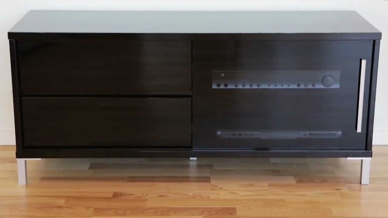 GUTE Tv-bänk Svart HiGloss Furniturebox