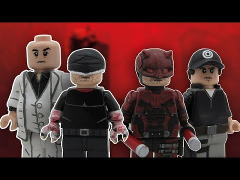 LEGO Daredevil Season 3 Custom Minifigures