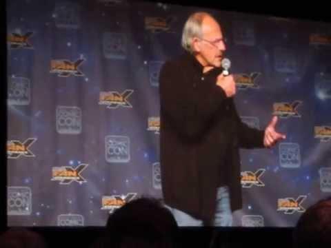 Christopher Lloyd Talks Voice Over vs. Live Action
