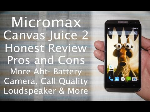 Micromax Canvas Juice 2 Reviews, Specs & Price Compare