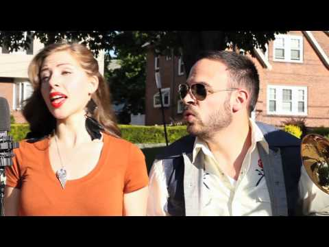 "Lake Street Dive Plays ""I Want You Back"" On a Boston Sidewalk"