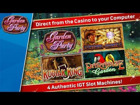 IGT Slots: Garden Party Trailer