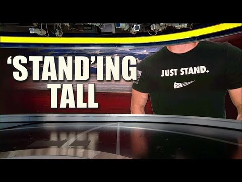 Army Veteran's Apparel Line Counters Nike-Kaepernick Campaign with 'Just Stand' Shirt
