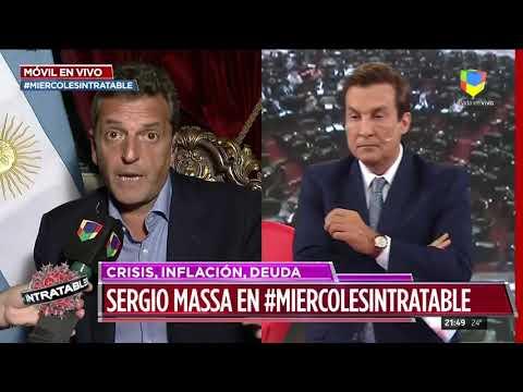 Massa: Macri se la pasó diciendo que la inflación era para burros
