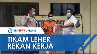 Sering Diejek Buruk Rupa, Pekerja Pabrik di Medan Menikam Leher Rekan Kerjanya hingga Tewas