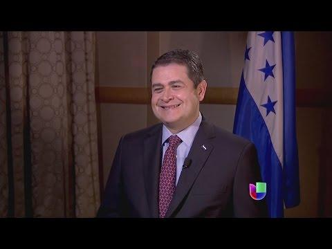 """Presidente Juan Orlando Hernández: """"No vinimos a pedir limosna"""""""