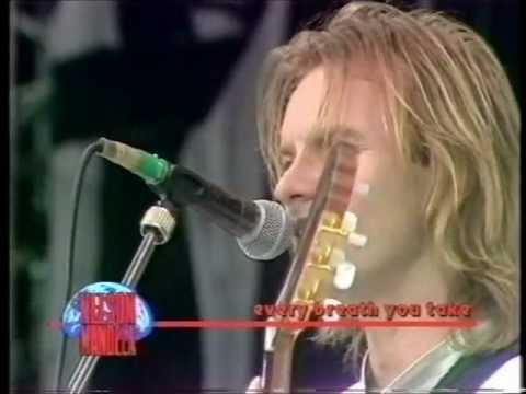 Sting - Every Breath you take  [Live,1988]