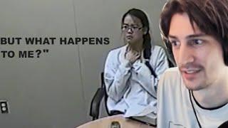 xQc Reacts to Jennifer's Solution (JCS - Criminal Psychology)
