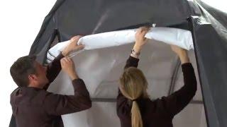 Shelterlogic Autoshelter Roundtop Portable Garage - Sandstone, 20ft.l X 10ft.w X 8ft.h, Model# 62684