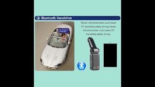 Car MP3 Audio Player Bluetooth FM Transmitter Wireless Modulator FM Car Kit Handsfree