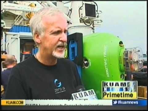 James Cameron prepares for historic excursion down the Marianas Trench
