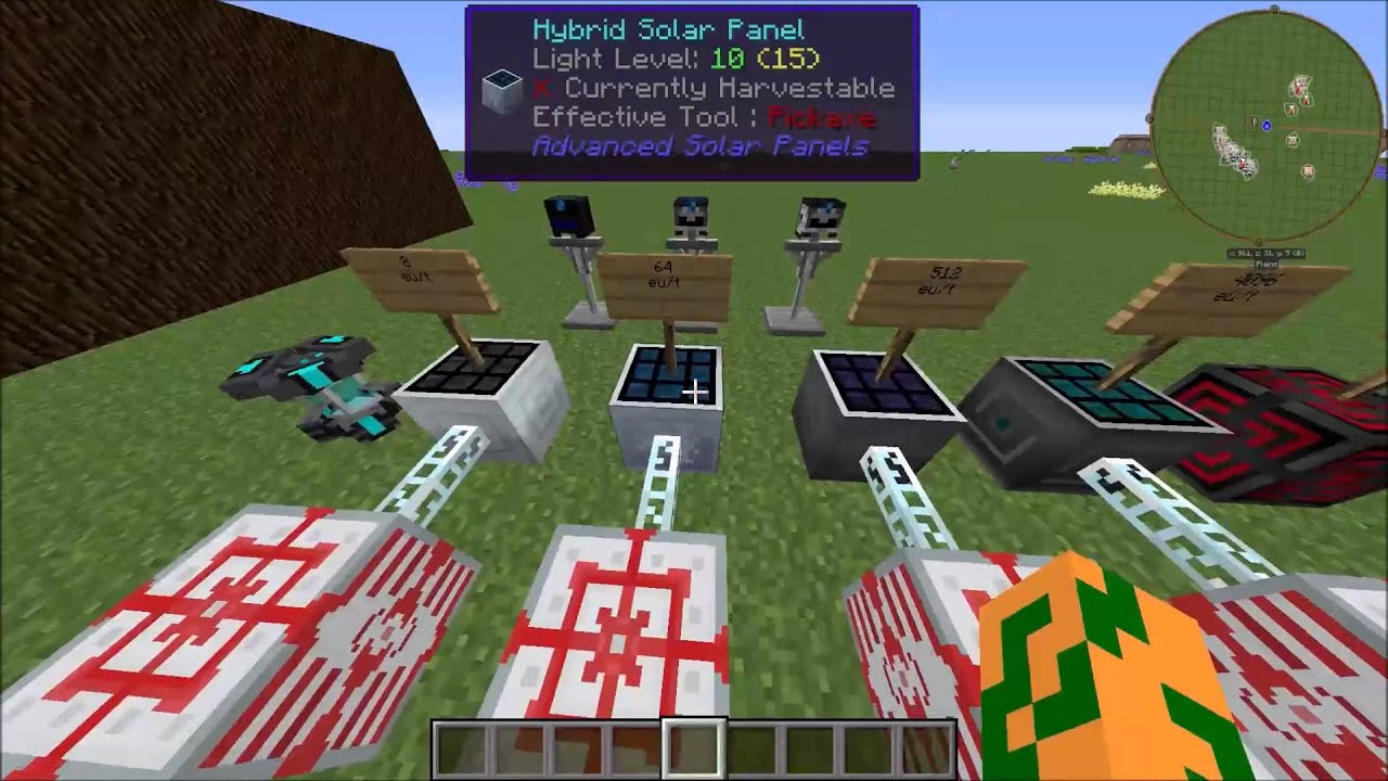 Advanced Solar Panels Mod Spotlight / Tutorial 1.7.10 - YouTube