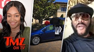 Tyler Perry Gifts Tiffany Haddish A Tesla! | TMZ TV