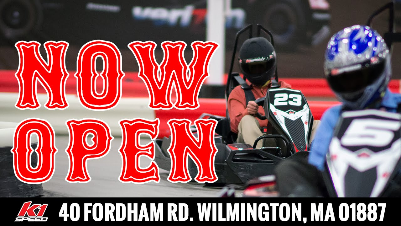 K1 Speed Go Kart Racing Boston Wilmington Ma Now Open Youtube