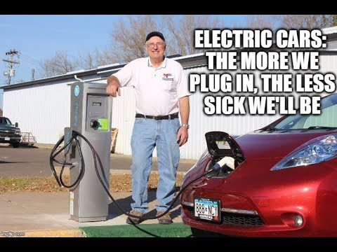 Electric Cars: The More People Who Plug In, The Less Sick We