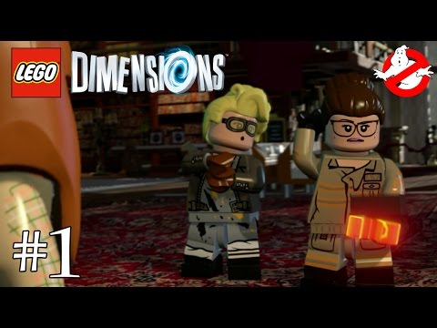 LEGO Dimensions FR - Ghostbusters - Story Pack 1/6 streaming vf