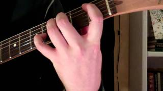 how to play the bbsus4 chord on guitar b flat suspended fourth 4th
