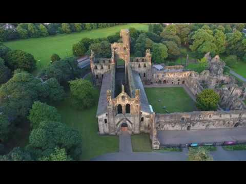 Drone flight in Leeds, United Kingdom.