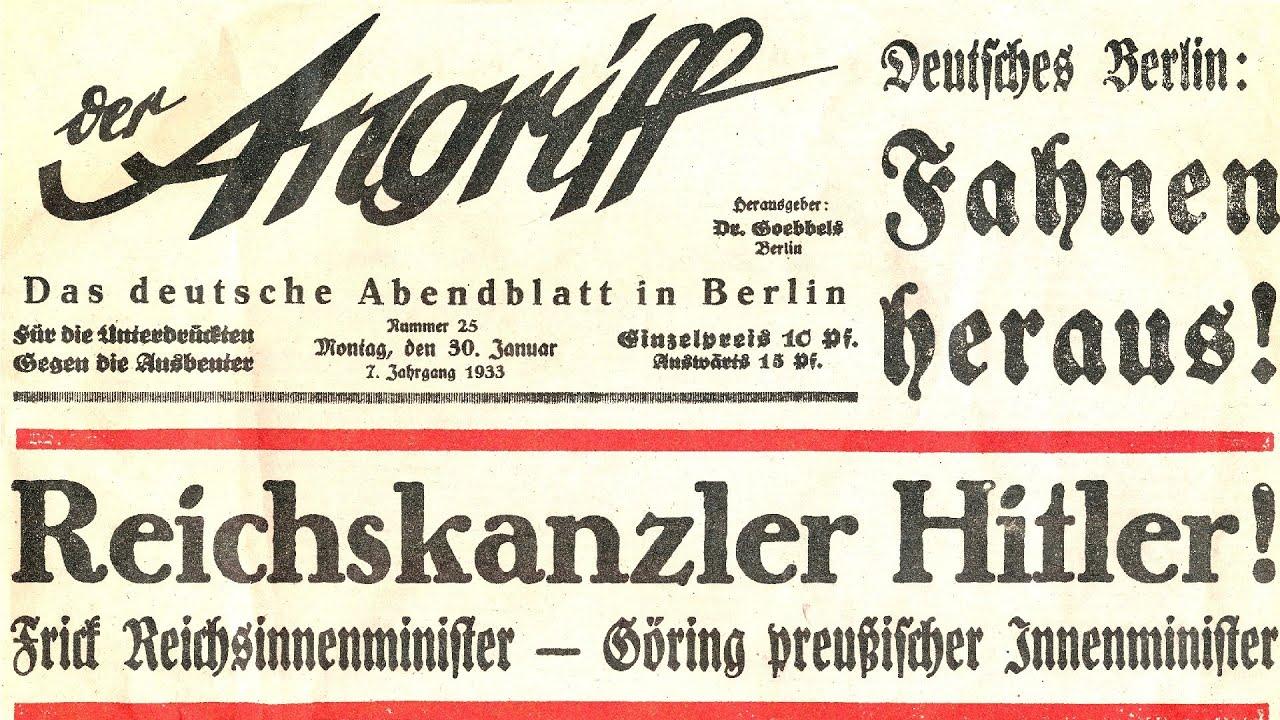 Deutsche Geschichte - Der Nationalsozialistische Staat