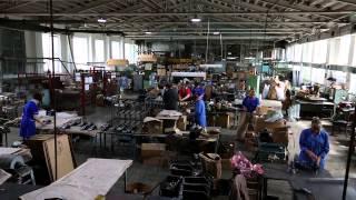 Сделано в Кузбассе HD: Производство аккумуляторных фонарей железнодорожника(ООО