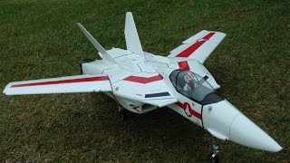 RC Valkyrie VF 1J EDF First Flight