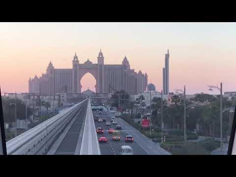 Palm Monorail to the Atlantis, Palm Jumeirah, Dubai