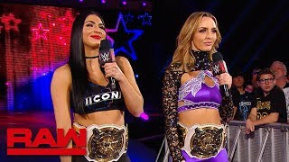 The IIconics mess with Texas during the break: Raw Exclusive, June 3, 2019