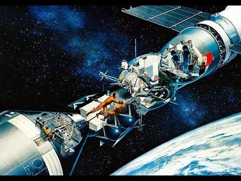 АРХИВ NASA: Стыковка «Союз-Аполлон»